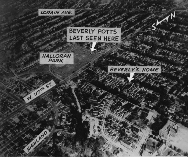 1951: The disappearance of Beverly Potts